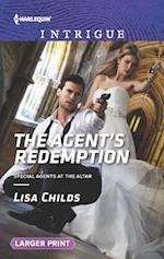 The Agent's Redemption (Harlequin Large Print Intrigue, nr. 1597)