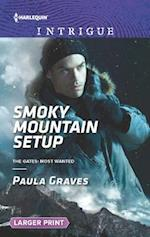 Smoky Mountain Setup (Harlequin Large Print Intrigue, nr. 1612)