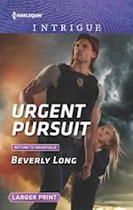 Urgent Pursuit (Harlequin Large Print Intrigue, nr. 1638)
