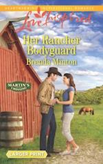 Her Rancher Bodyguard (Love Inspired (Large Print))