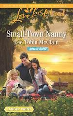 Small-Town Nanny (Love Inspired (Large Print))