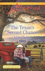 The Texan's Second Chance (Love Inspired (Large Print))