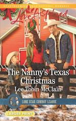 The Nanny's Texas Christmas (Lone Star Cowboy League Boys Ranch, nr. 3)