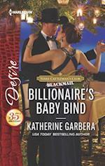 Billionaire's Baby Bind (Harlequin Desire)