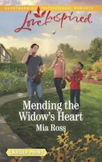 Mending the Widow's Heart (Love Inspired (Large Print))