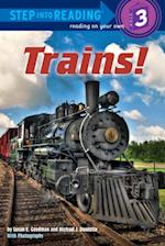 Trains! (Step Into Reading)
