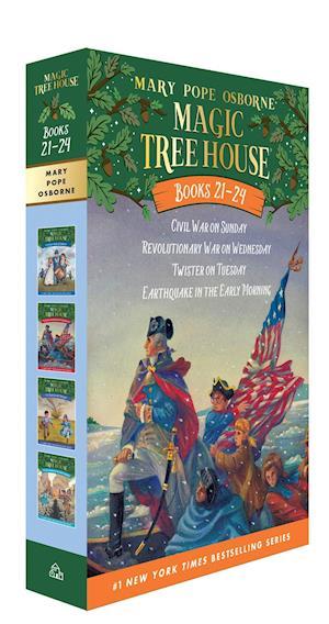 Magic Tree House Volumes 21-24 Boxed Set