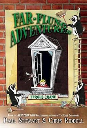 Bog paperback Fergus Crane af Chris Riddell Paul Stewart