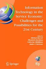Information Technology in the Service Economy af Michael Barrett, Jiro Tsuji, Elizabeth Davidson