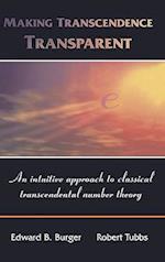 Making Transcendence Transparent af Robert Tubbs, Edward B Burger