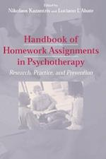 Handbook of Homework Assignments in Psychotherapy af Nikolaos Kazantzis, Francoise Gerard, Luciano L Abate