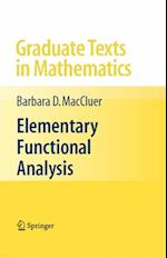 Elementary Functional Analysis (GRADUATE TEXTS IN MATHEMATICS)