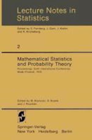 Mathematical Statistics and Probability Theory