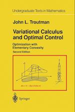Variational Calculus and Optimal Control : Optimization with Elementary Convexity