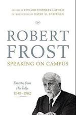 Robert Frost Speaking on Campus