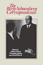 The Berg-Schoenberg Correspondence af Alban Berg, Donald Harris, Arnold Schoenberg