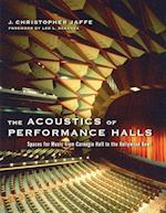 The Acoustics of Performance Halls