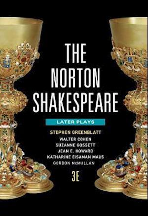 Bog, paperback The Norton Shakespeare 3E Four Voluume with Registration Card af Stephen Greenblatt