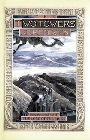 Bog, hardback Two Towers af J R R Tolkien