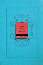Burn After Writing af Sharon Jones