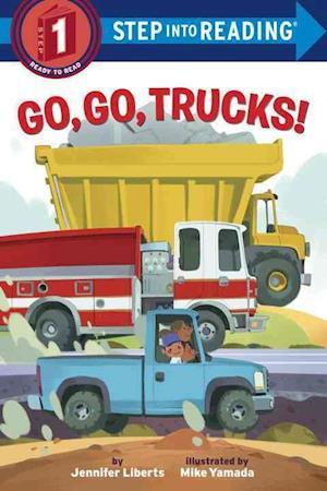 Bog, ukendt format Go, Go, Trucks! af Jennifer Liberts