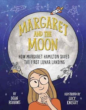 Bog, hardback Margaret and the Moon af Dean Robbins