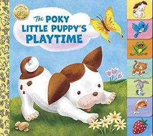 Bog, papbog Poky Little Puppy's Playtime af Golden Books