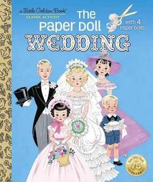 Bog, hardback Paper Doll Wedding af Hilda Miloche