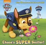 Chase's Super Sniffer! (Paw Patrol) (Scratch And Sniff Book)