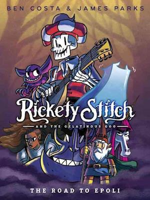 Bog, paperback Rickety Stitch and the Gelatinous Goo 1 af James Parks