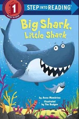 Bog, hardback Big Shark, Little Shark af Anna Membrino