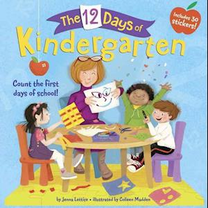Bog, paperback The 12 Days of Kindergarten af Jenna Lettice