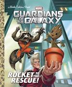 Rocket to the Rescue! (Marvel (Little Golden Book)