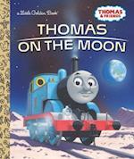 Thomas on the Moon (Little Golden Books)