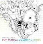 Pop Manga Adult Coloring Book af Camilla D'errico