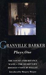 Granville-Barker: Plays One