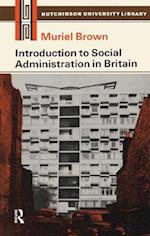 Introduction to Social Administration in Britain