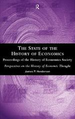 The State of the History of Economics: Proceedings of the History of Economics Society af James P. Henderson, History of Economics Society, J. Henderson