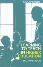 Learning to Teach in Higher Education af Paul Ramsden, David Watson