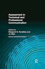 Assessment in Technical and Professional Communication