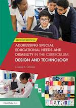 Addressing Special Educational Needs and Disability in the Curriculum: Design & Technology (Addressing Send in the Curriculum)