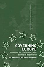 Governing Europe: Discourse, Governmentality and European Integration af Jens Henrik Haahr, William Walters, Walters William