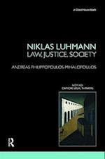 Niklas Luhmann: Law, Justice, Society af Andreas Philippopoulos-mihalopoulos