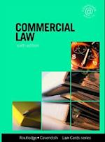Commercial Lawcards 6/E (Lawcards)