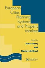 European Cities, Planning Systems and Property Markets