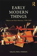 Early Modern Things af Paula Findlen