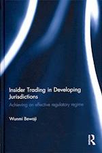 Insider Trading in Developing Jurisdictions