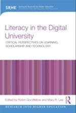Literacy in the Digital University (Research into Higher Education)