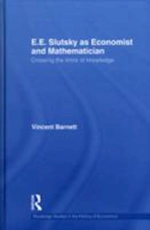 Bog, hardback E.E. Slutsky as Economist and Mathematician af Vincent Barnett