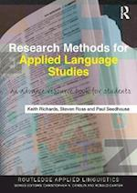 Research Methods for Applied Language Studies (Routledge Applied Linguistics)